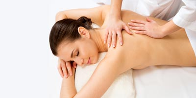 Remedial Massage Button Woman having massage